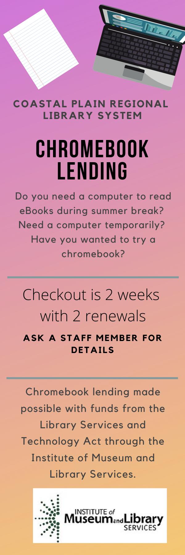 Chromebook lending